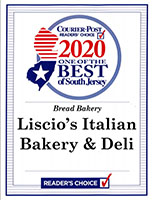 Liscios Italian Bakery and Deli - Best of South Jersey 2020